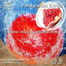 High Quality/Factory Supply Natural Pomegranate Peel Extract Powder 40% Ellagic acid 10%,80% Polyphenols, 5:1, 10:1