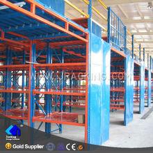High rise work platform,High quality heavy duty warehouse rack Jracking storage mezzanine