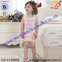 2014 new arriver 100% cotton little girls birthday dresses pretty summer baby dresses