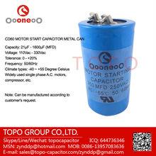 motor starting capacitor 110 125 165 200 220 250 300 330 vac volts