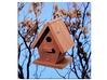 Hot Selling Waterproof Wooden Hanging Bird House, Bird Feeder, Bird Cage