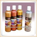 250 ml glitter acrílico cor / tinta acrílica metálica