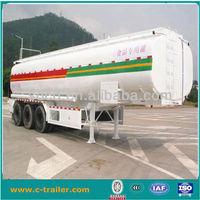 2014 3 axles new 45m3 crude oil tanker semi-trailer