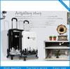 PC fashion travel luggage,adorable girl trolley bag 20/24/28