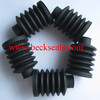 IBG high precision custom molded black HNBR square rubber bellows