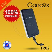 Free online car gps tracker small car gps tracker with GPS+GSM+GPRS wireless network Concox TR02