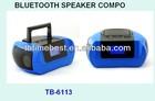 TB-6113 High-Tech & New Bluetooth Boombox Speaker Box, Dual Speaker, Stereo Sound