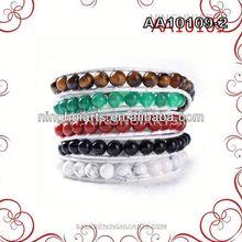 blue heart murano stone bracelets stainless 2013 glamour steel fashion jewelry high school graduation gift gift