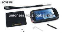100% Original life Dirt proof Waterproof Love Mei Metal Case For Galaxy S3 i9300 + Gorilla Glass