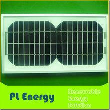 mini mono pv 12v 5w solar panel