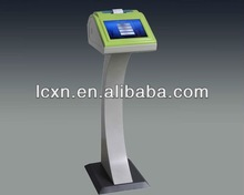 "10"" touch screen stand alone or tablet queuing system"