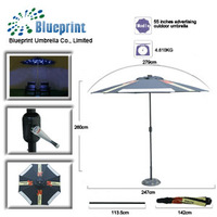 pulleys for patio promotional outdoor parasol balcony vending umbrella