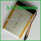 LP9069103 3.7v li ion battery pack,li-ion 3.7v 8000mah batterie