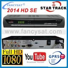 Startrack 2014 HD SE digital satellite receiver with gprs dongle Star track 2014 HD SE