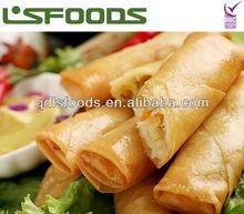 2014 frozen vegetable spring rolls hot sale