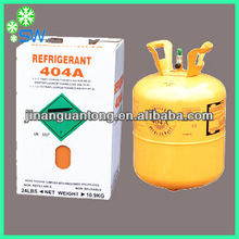 Mixed Refrigerant R404a gas OEM packing natural gas refrigerator R404a