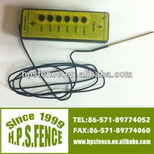 Alibaba China New product electric fence 1000V-10000V plastic ranch 6-lite (0-5 kilovolt) voltage reader