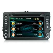 multi-media car dvd gps navigation system for Skoda Superb