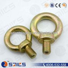 china manufacturer carbon steel galvanized jis 1168 lifting eye screw