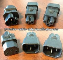Set of IEC Converters C13 C14 C5 C6 C7 for PAT