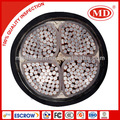 Yjav 4*400 poder cabo de cobre- revestido de alumínio do condutor