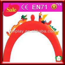 HI cheap inflatable chinese dragon arch for promotion for sale