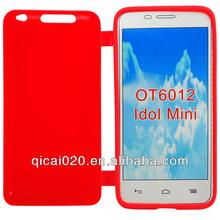 Flip TPU case For Alcatel OT6012/Idol mini