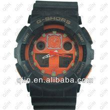 CA701 Cool Dual Time Display keychain digital watch
