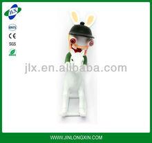 mini miniature rabbit toy small plastic animal figurines toys rabbit figure toys