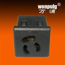 125V 36*36*40mm Locking industrial socket 15 amp socket