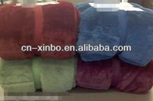 Arctic Fleece Down Alternative Throw Blanket Reversible