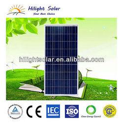 Grade A 150W Poly Solar Module With IEC,TUV,CE,ISO,CEC