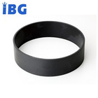 IBG high precision PTFE +20% carbon 25.2*27.6*3.3mm black seal wear ring