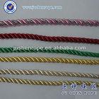 3 strands fluorescent nylon anchore rope high breaking strength
