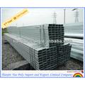 75 x 75 quadrado galvanizado postes de aço - 3 mm e 4 mm grosso RHS
