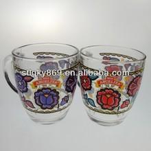 lyT180 China Manufacturer Promotional Nestle Glass Mug Nestle Milo Glass Nestle Cup