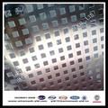 a fábrica de exportação de aço carbono quadrado de metal perfurado folha iso9001