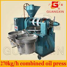 270kg per hour big capacity combined medium oil presser
