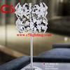modern chrome crystal floor lamp
