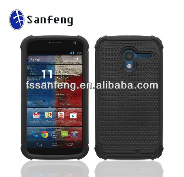 High Impact Hybrid Plastic Case For Motorola X Phone