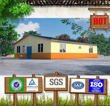 2014 Prebuilt New Type Build-in Steel Structure Fiber Cement Board House