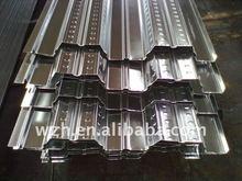Galvanized metal decking floors/steel deck floor covering /composite floor steel decking(manufacturer)