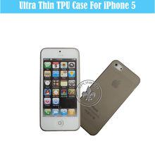 """Premium Materials For iphone 5"""" Case TPU Pure T3203-29"""