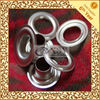 Customized Stainles Steel Curtain / Shoe Lace / Handbag Eyelets and Grommets