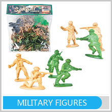 Hot Toys Mini Collectible Military Figures Play Set With EN71