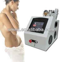 2014 10MHZ RF Skin Rejuvenation Fractional RF Cavitation EMS Vibration RF Vibrating Body Massager Device