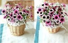 WI-1303,Beautiful wicker flower basket