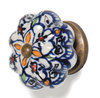 Hand Painted Melon ceramic cabinet knobs furniture knobs and handles