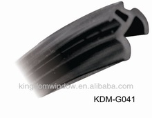 Window weaather seal, Black PVC Gasket for aluminium windows