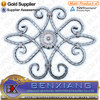 Ornamental/Decorative wrought iron gate part,wrought iron rosette